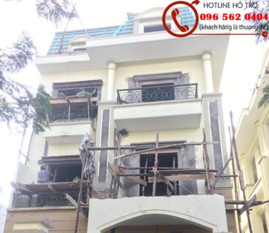 Cải tạo biệt thự cũ tại Hà Nội