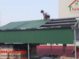 làm mái tôn trọn gói tại Hà Nội