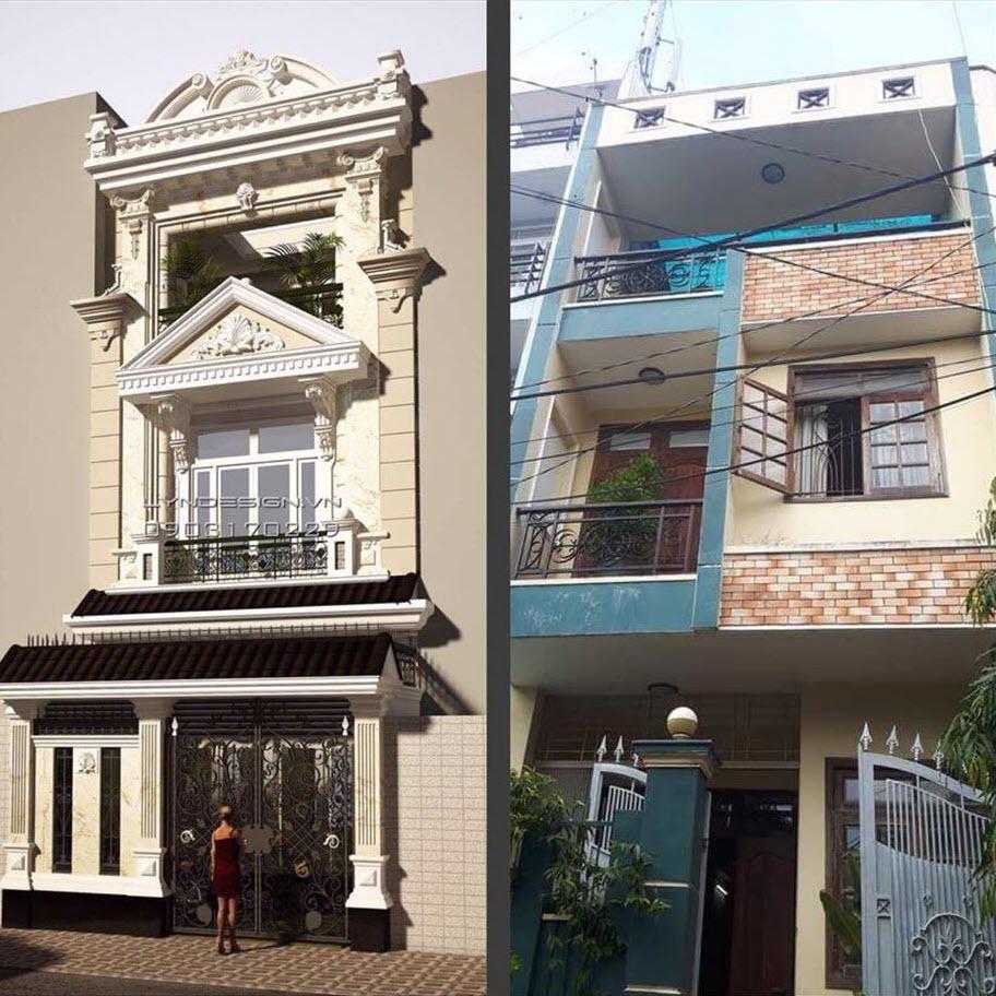 Sửa chữa, cải tạo nhà phố tại Hà Nội