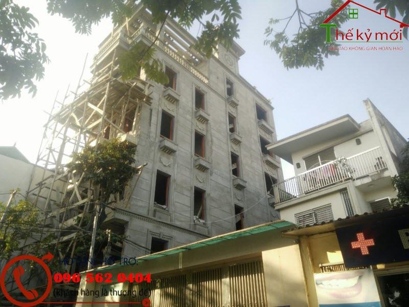xây nhà tại quận Hoàng Mai