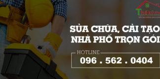 Bảng giá sửa chữa cải tạo nhà tại Hà Nội 2019