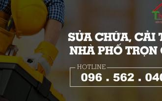 Báo giá sửa chữa nhà 2020 tại Hà Nội