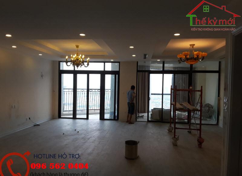 Sửa chữa chung cư tại Hà Nội