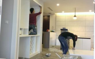 Hoàn thiện chung cư xây thô tại Hà Nội