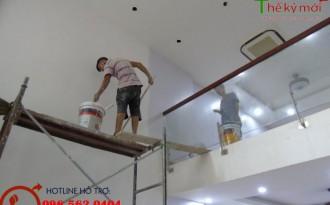 Thợ sơn nhà giá rẻ tại Hà Nội