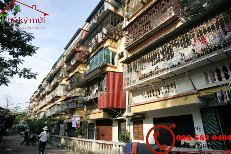 Sửa chữa, cải tạo nhà tập thể tại Hà Nội