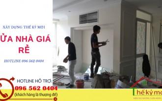 Sửa nhà giá rẻ tại Hà Nội