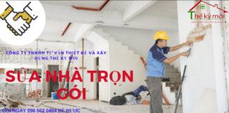 Sửa nhà trọn gói tại Hà Nội