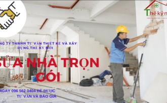 Báo giá sửa chữa nhà trọn gói tại Hà Nội