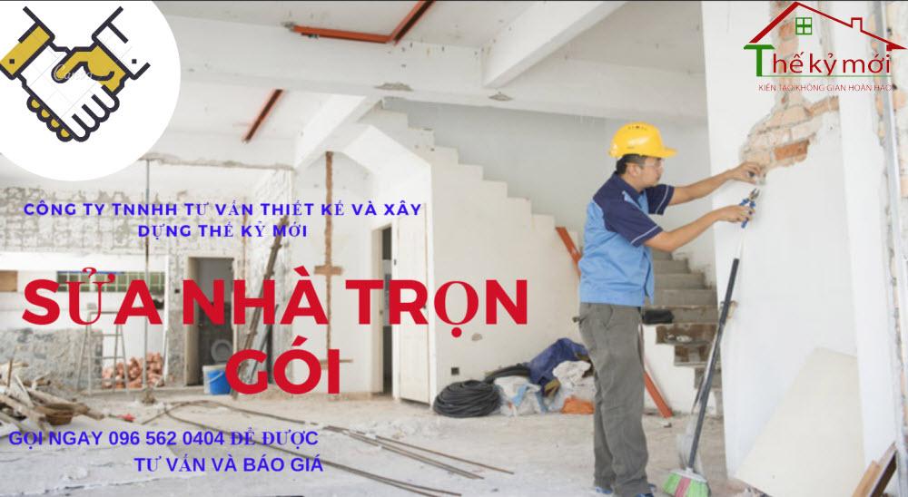 Sửa nhà trọn gói giá rẻ tại Hà Nội