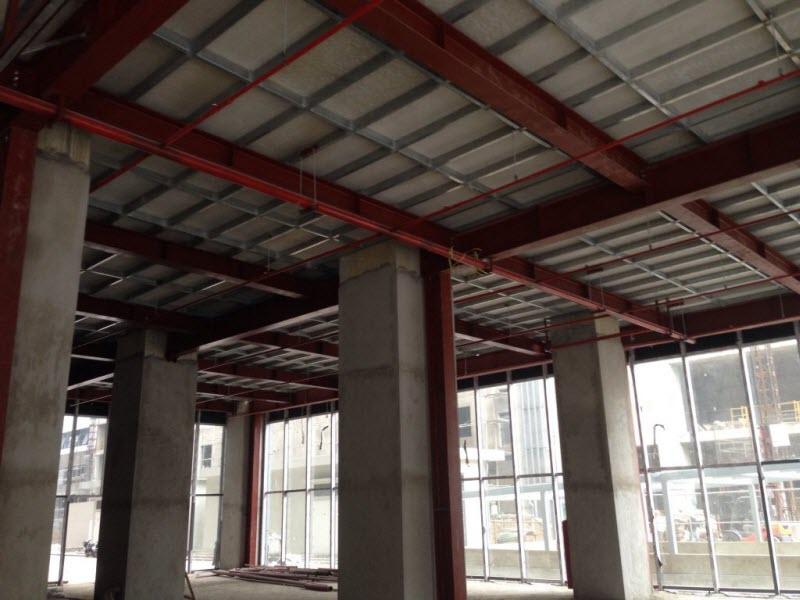 Thi công sàn bê tông nhẹ thái lan cemboard tại Hà Nội