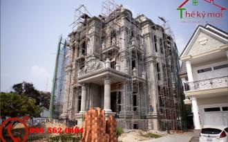 Giá xây nhà phần thô 2020 tại Hà Nội