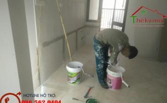 Giá sơn nhà trọn gói tại Hà Nội