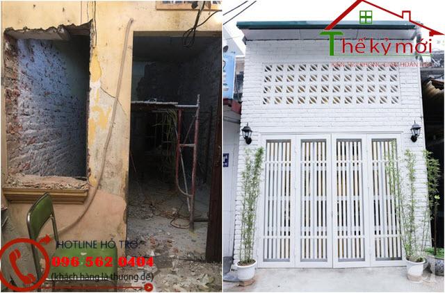 Cải tạo nhà cũ thành nhà mới