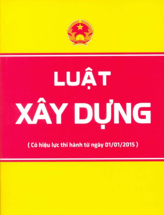 Luật xây dựng 2019