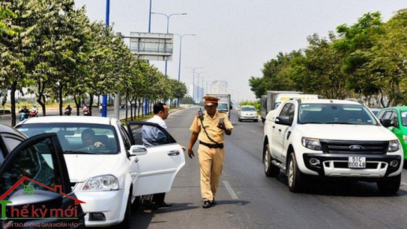 Mức phạt ô tô quá hạn đăng kiểm