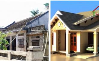 Sửa nhà cũ thành nhà mới chi phí rẻ