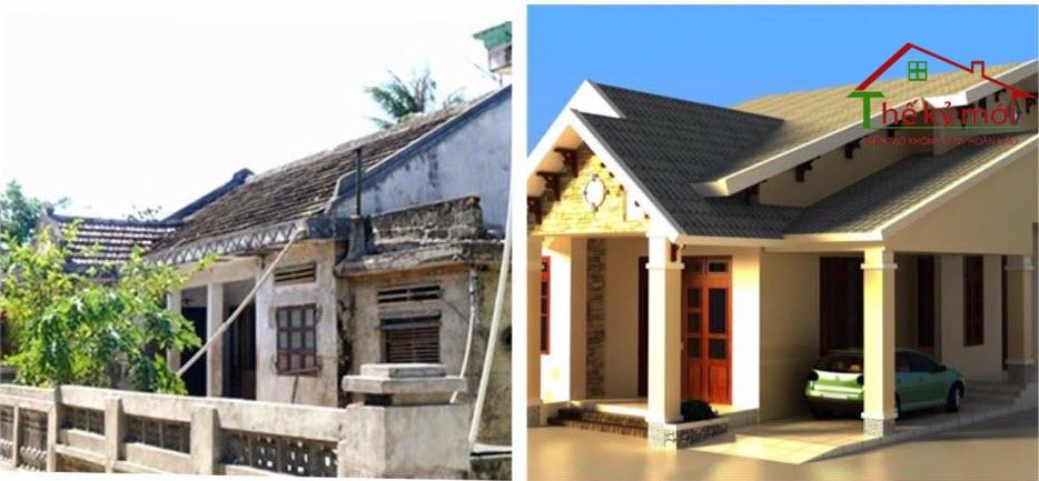 Sửa nhà cũ thành nhà mới