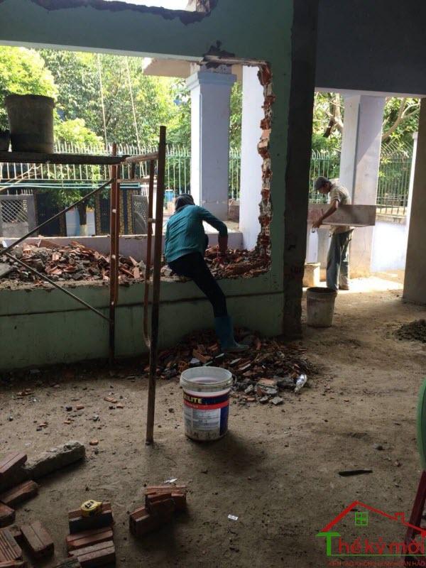 Báo giá sửa chữa , cải tạo nhà ở Hà Nội