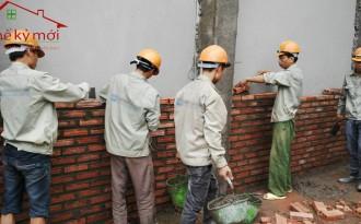 Giá nhân công xây dựng tại Hà Nội