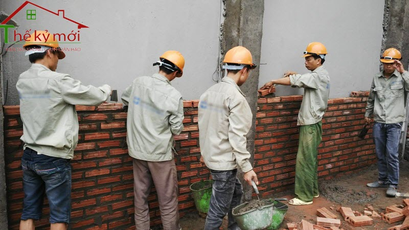 Đơn giá nhân công xây dựng phần thô