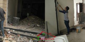sửa chữa cải tạo nhà tại Thanh Trì