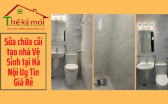 Báo giá sửa chữa nhà vệ sinh tại Hà Nội