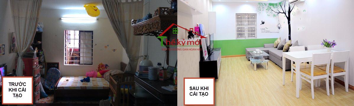 Sửa chữa chung cư tại Linh Đàm