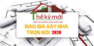 Báo giá xây dựng trọn gói 2020