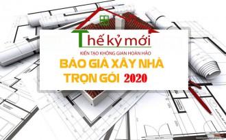Báo giá xây dựng trọn gói 2021