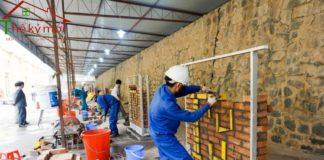 Giá nhân công xây dựng 2020