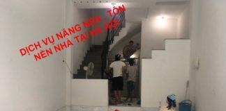 Báo giá tôn nền nâng nền nhà tại hà nội