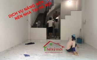 Báo giá nâng nền nhà tại Hà Nội