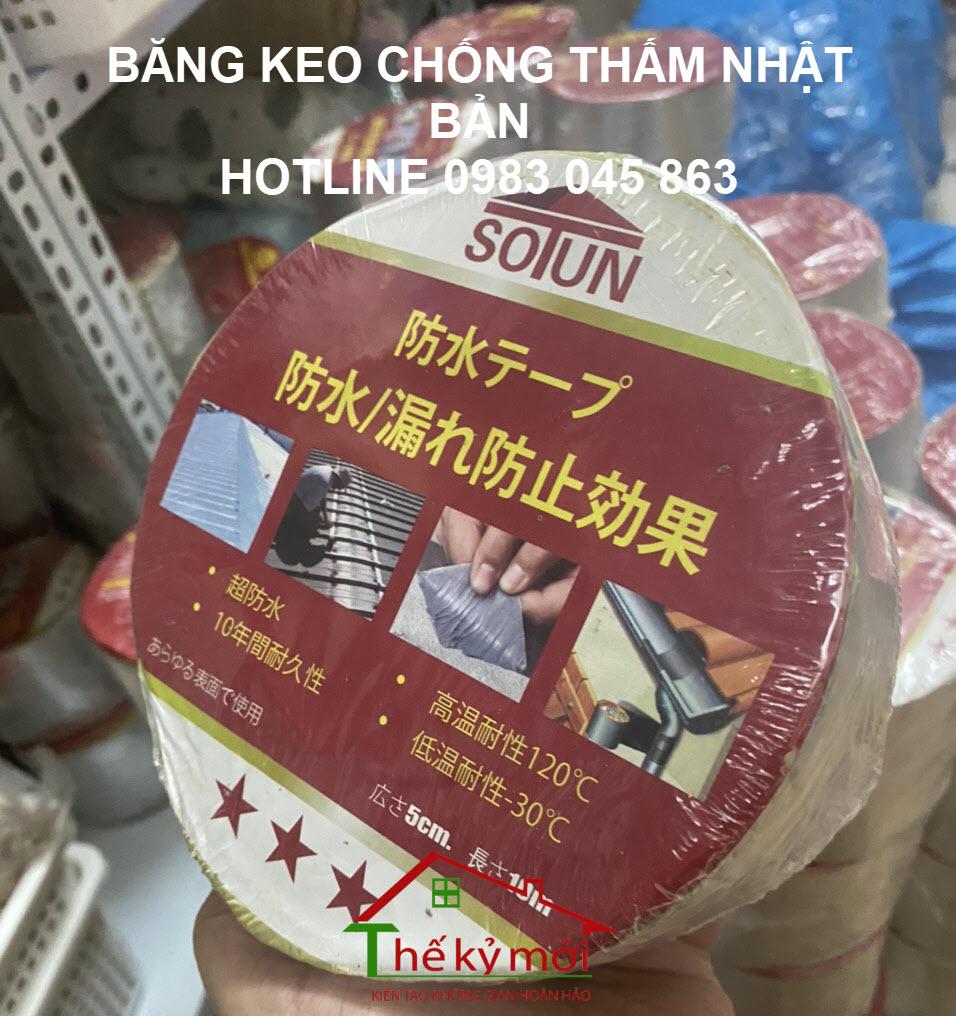 Băng keo chống thấm Nhật Bản SOTUN