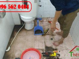 Bảng giá Thi công sửa chữa lắp đặt điện nước tại Hà Nội