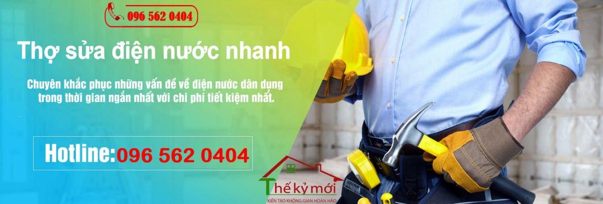 Sửa chữa điện nước tại Quận Thanh Xuân
