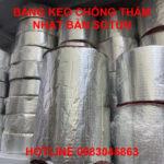 Băng keo Sotun Nhật Bản chống thấm dột cuộn 10cm x 10m