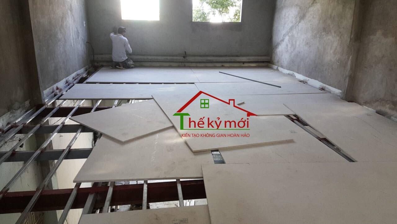 Báo giá thi công tấm vách tường bê tông siêu nhẹ Cemboard - Duraflex tại Hà Nộ