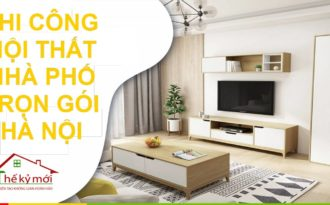 Giá hoàn thiện nội thất nhà phố tại Hà Nội