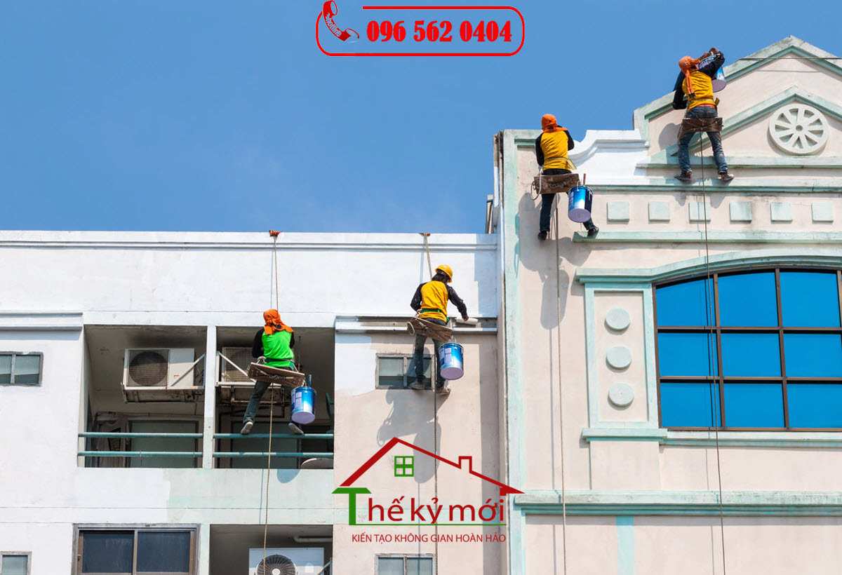 Báo giá nhân công sơn nhà tại Hà Nội