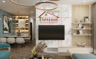 Báo giá thi công nội thất chung cư trọn gói tại Hà Nội