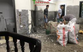 Đơn giá đục tường cũ trát lại tại Hà Nội