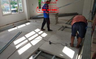 Làm sàn bê tông nhẹ tại Hà Nội