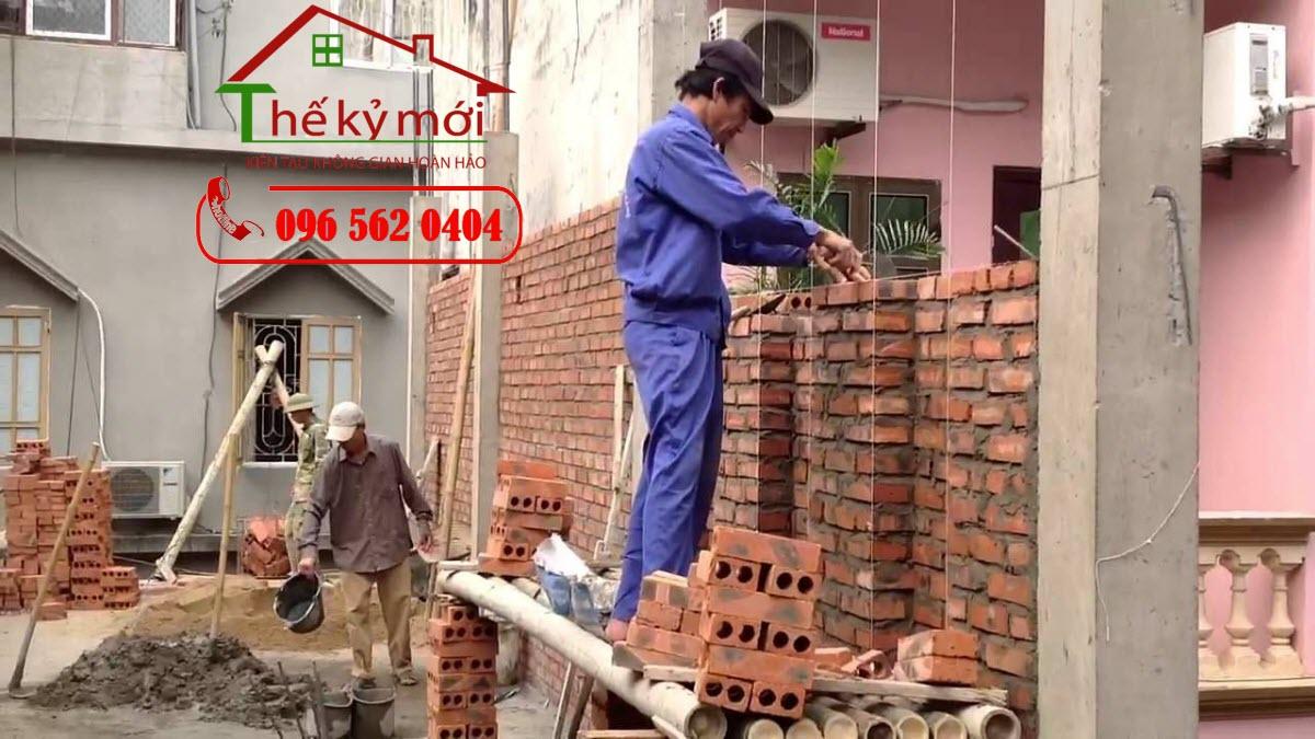 Báo giá sửa chữa nhà 2021 Hà Nội hạng mục xây trát tường tại Hà Nội