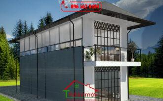 Nhà ở bằng thép tiền chế giá rẻ