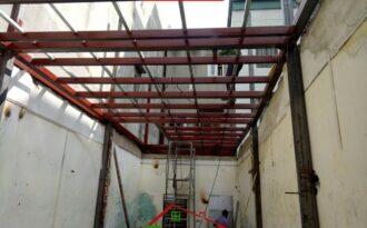 Nâng tầng nhà bằng khung thép tại Hà Nội